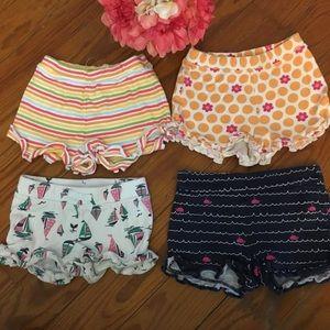 Gymboree bundle of Cotton Shorts Size 2T